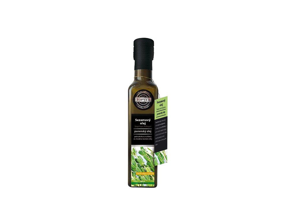 TOPVET Sezamový olej 250ml