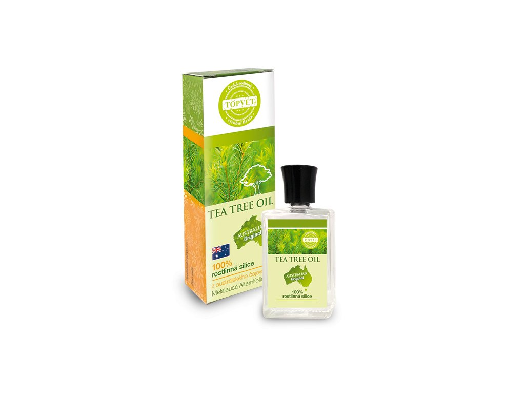 TOPVET Tea tree oil - 100% silice 10ml