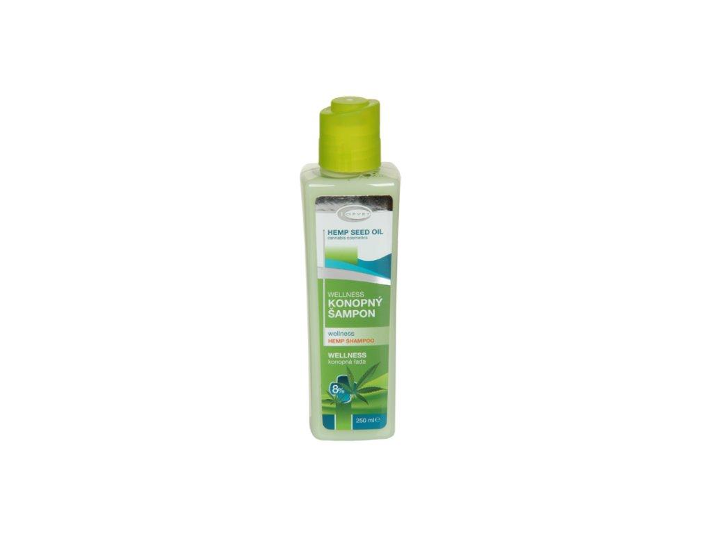 TOPVET Wellness konopný šampon 8% 250ml