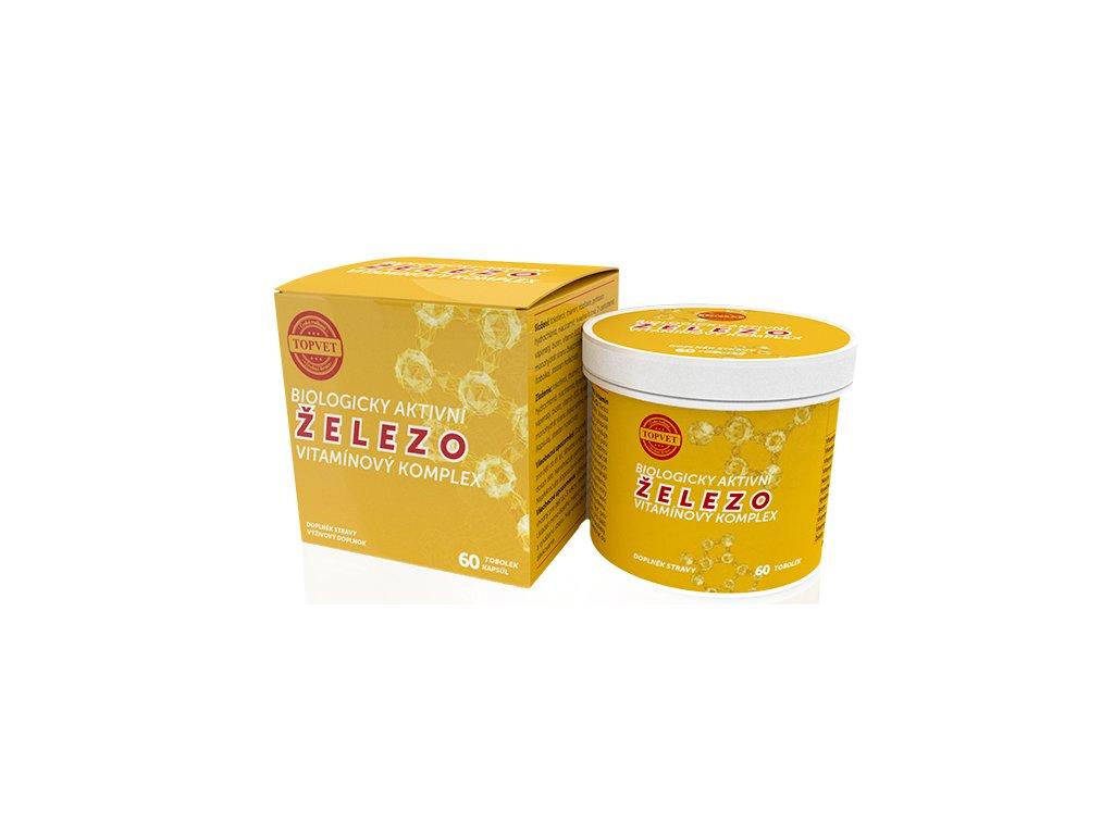 TOPVET Železo - vitamínový komplex