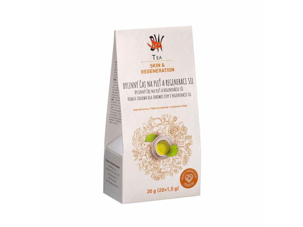 Dr.nek Tea Skin & Regeneration pro lepší pokožku a regeneraci 20 sáčků x 1,5g -