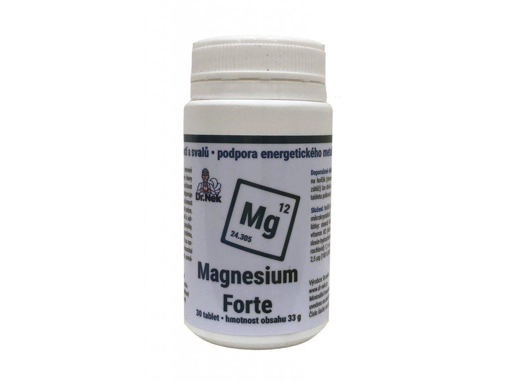 Dr.nek Pills Magnesium Forte Hořčík, zmírnění únavy 30tablet