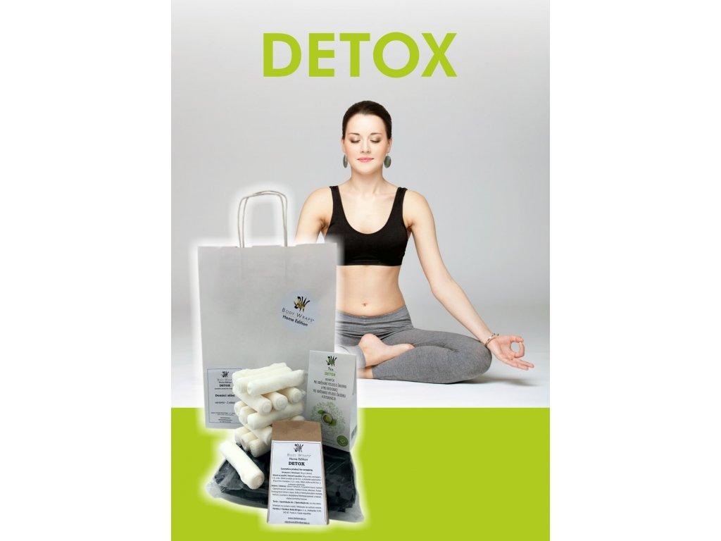 Body Wraps Home - Detox zábal - 3 procedury