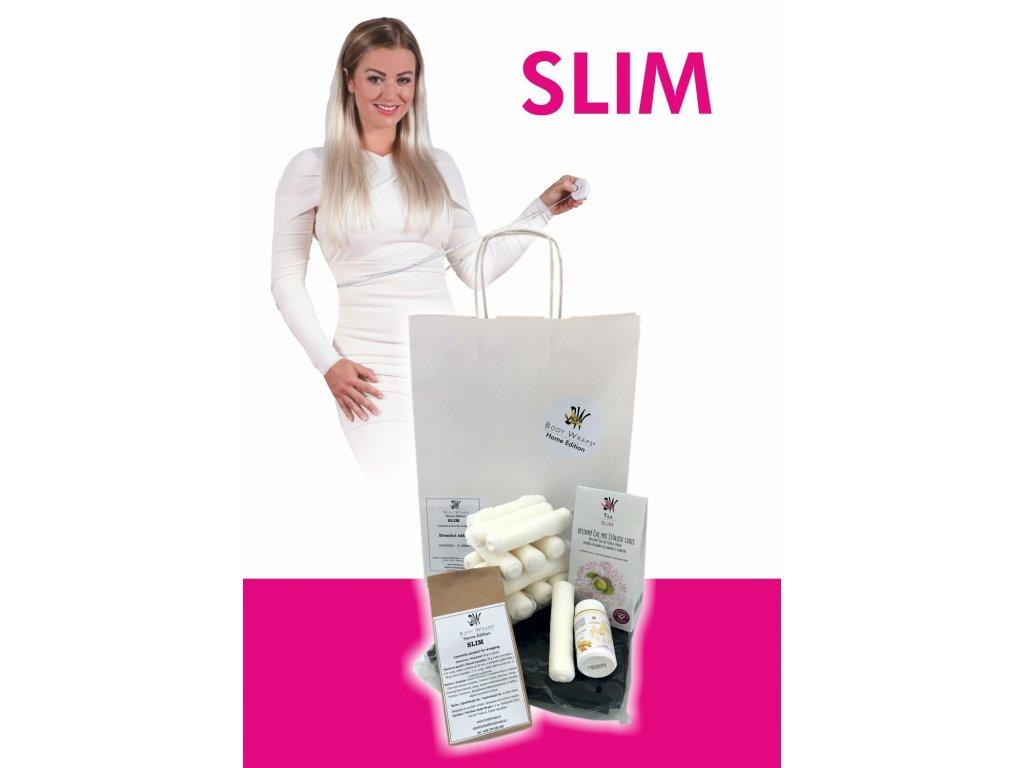 Body Wraps Home - Slim zábal - 3 procedury -