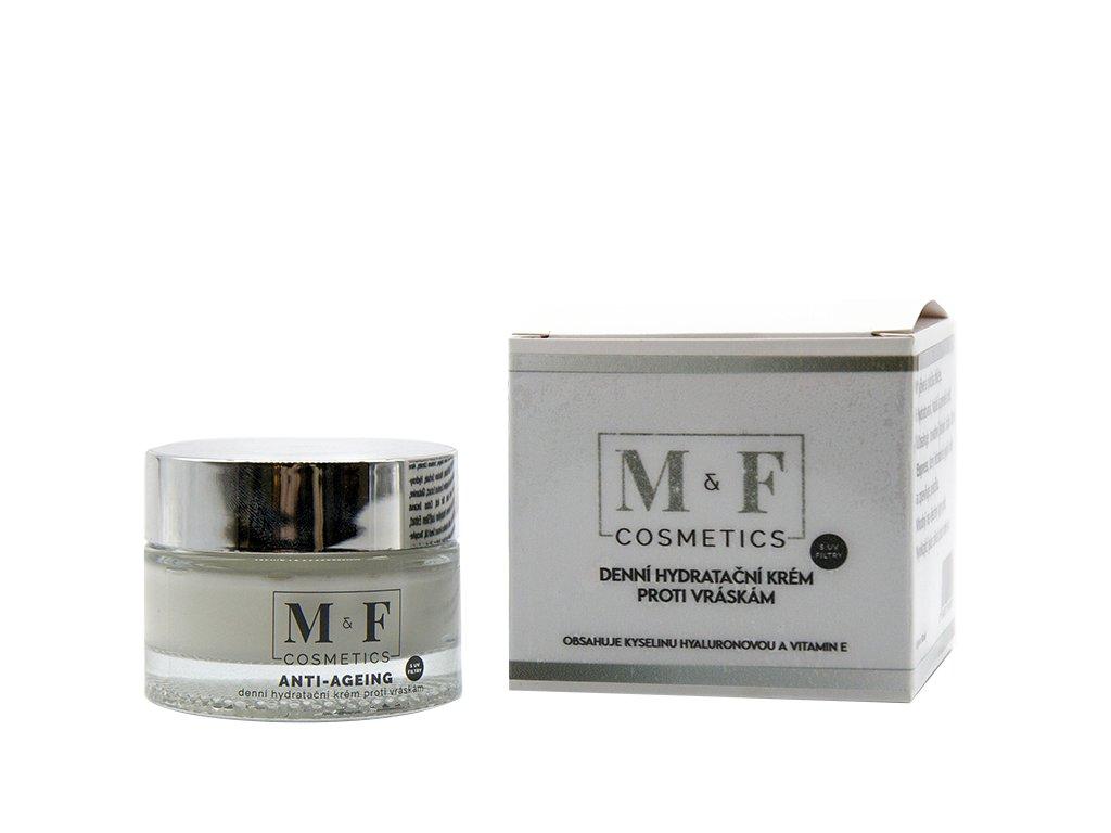 M&F COSMETICS Denní hydratační krém proti vráskám 50ml