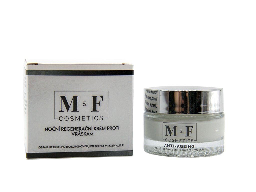 M&F COSMETICS Noční regenerační krém proti vráskám 50ml