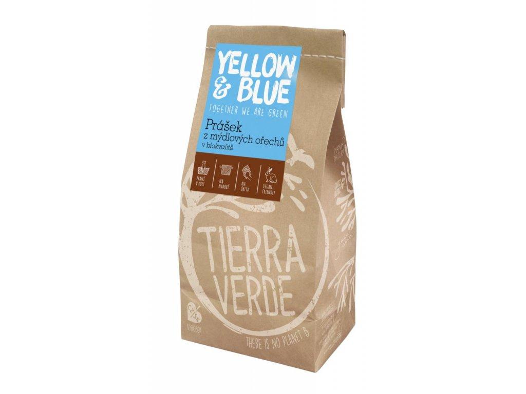 Tierra Verde – Prášek z mýdlových ořechů (Yellow & Blue), 500 g