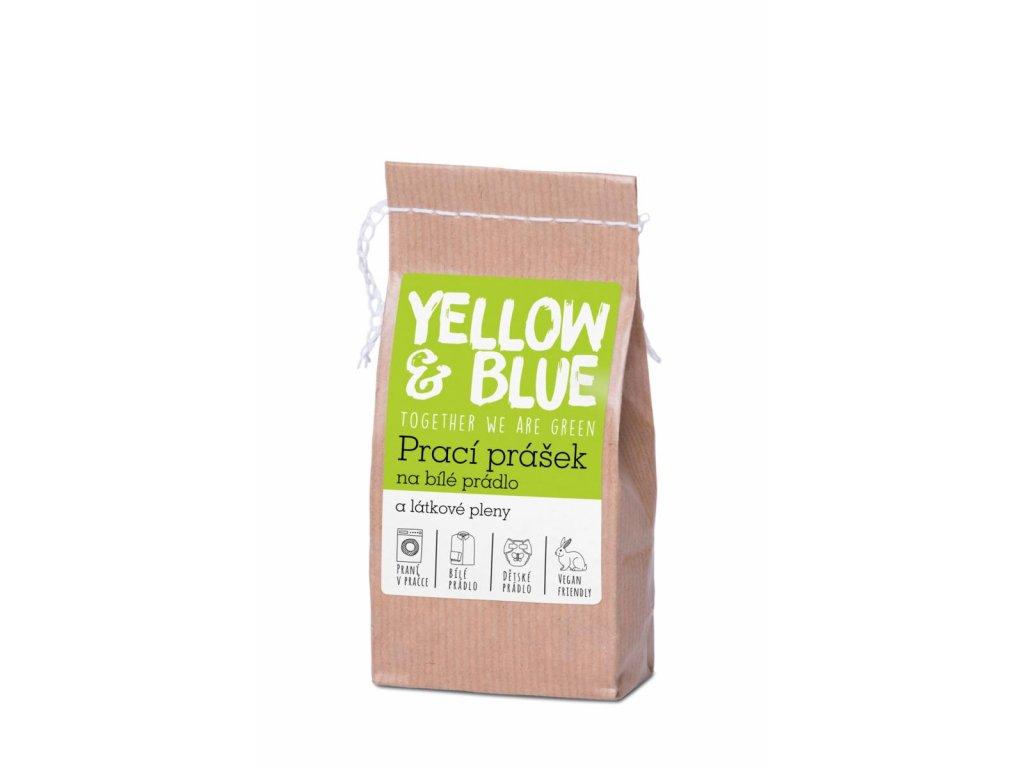 Tierra Verde – Prací prášek na bílé prádlo a pleny (Yellow & Blue), 250 g