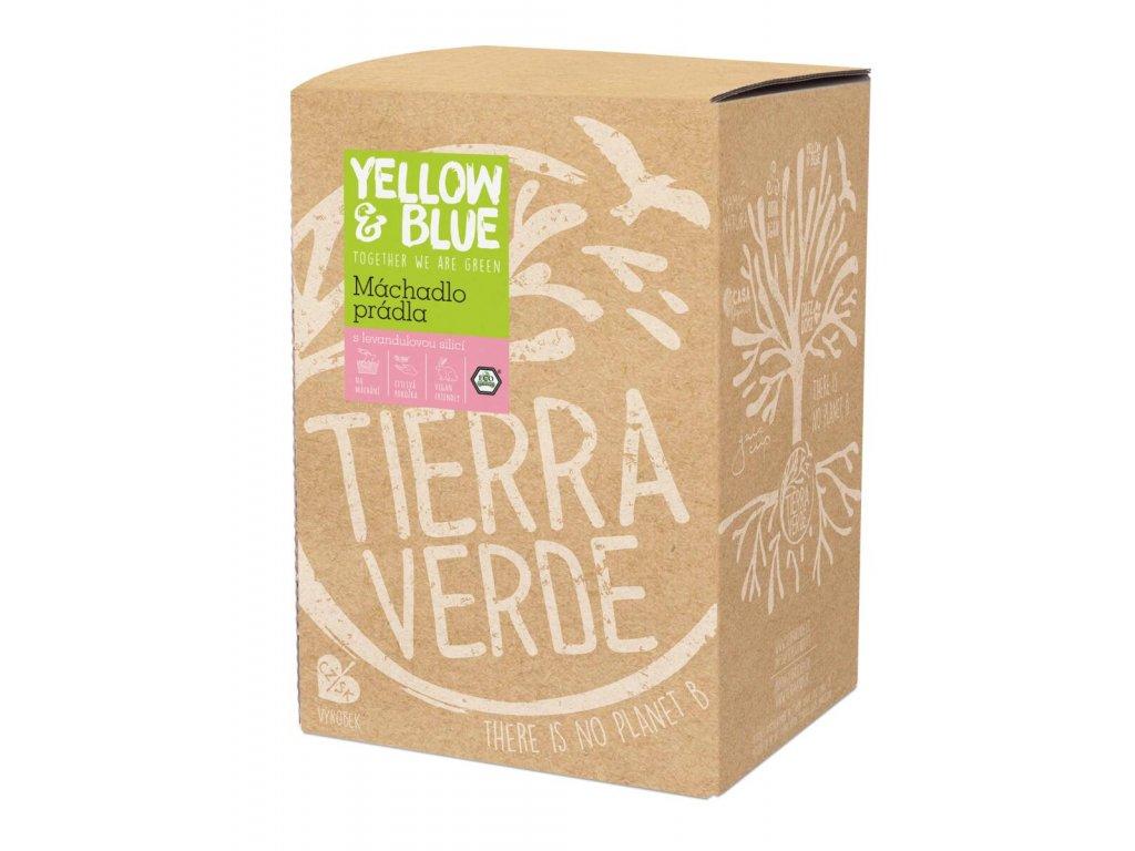 Tierra Verde – Máchadlo prádla (Yellow & Blue), 5 l