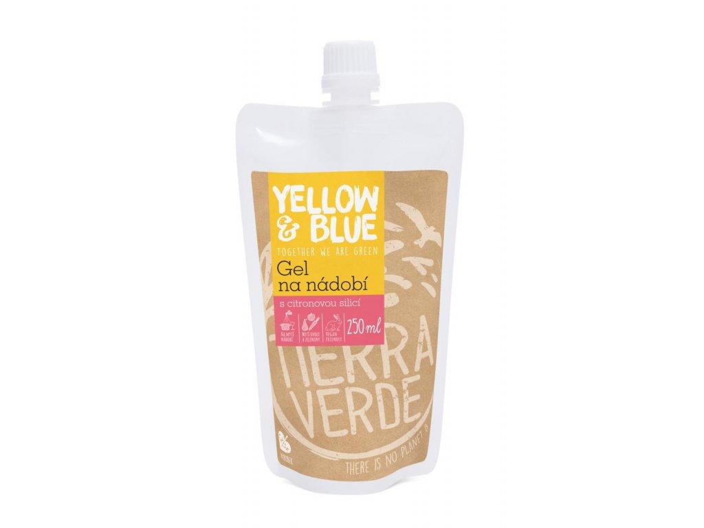 Tierra Verde – Gel na nádobí (Yellow & Blue), 250 ml
