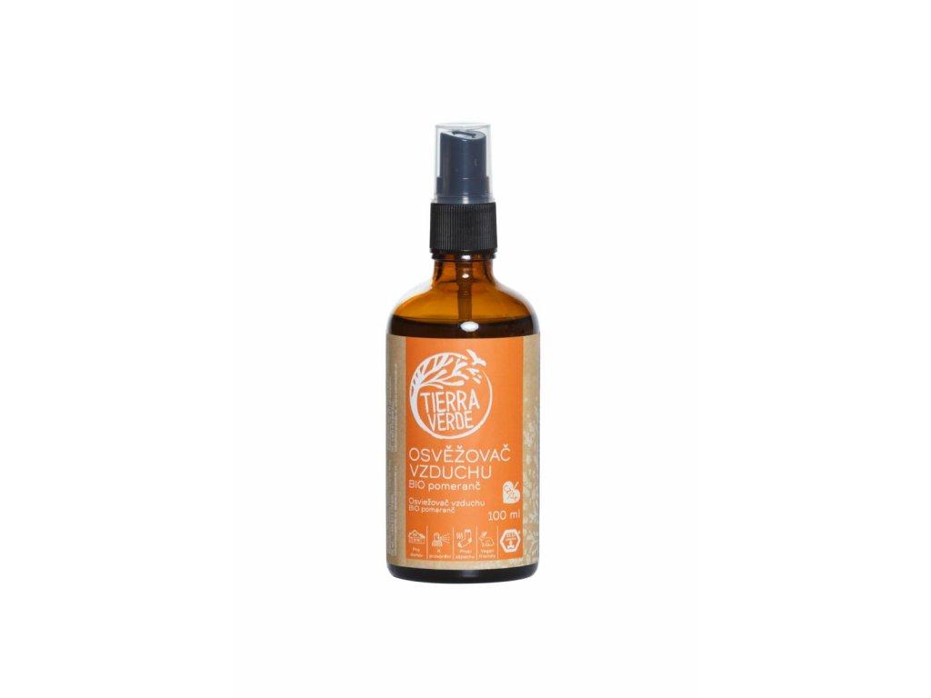 Tierra Verde – Osvěžovač vzduchu – BIO Pomeranč, 100 ml
