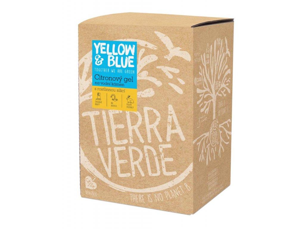 Tierra Verde – Citronový gel na vodní kámen (Yellow & Blue), 5 l
