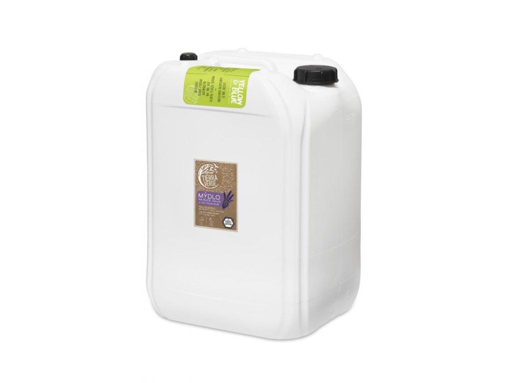 Tierra Verde – Tekuté mýdlo na ruce – levandule, 25 l