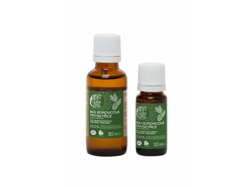 Tierra Verde – Silice BIO Borovicová pryskyřice, 30 ml