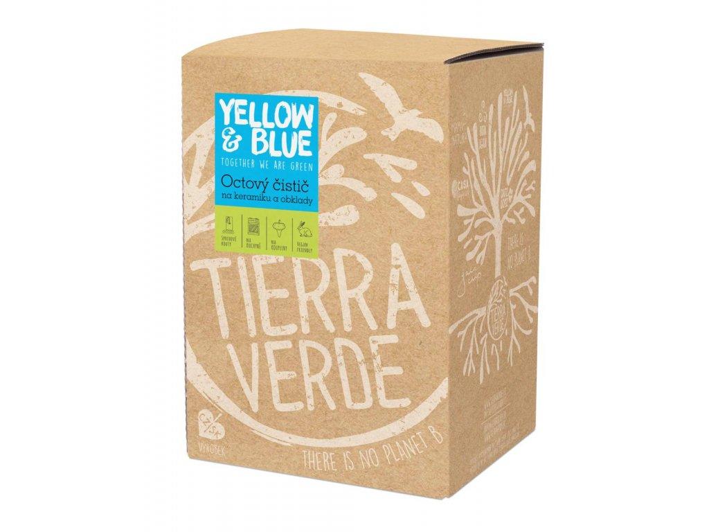 Tierra Verde – Octový čistič (Yellow & Blue), 5 l