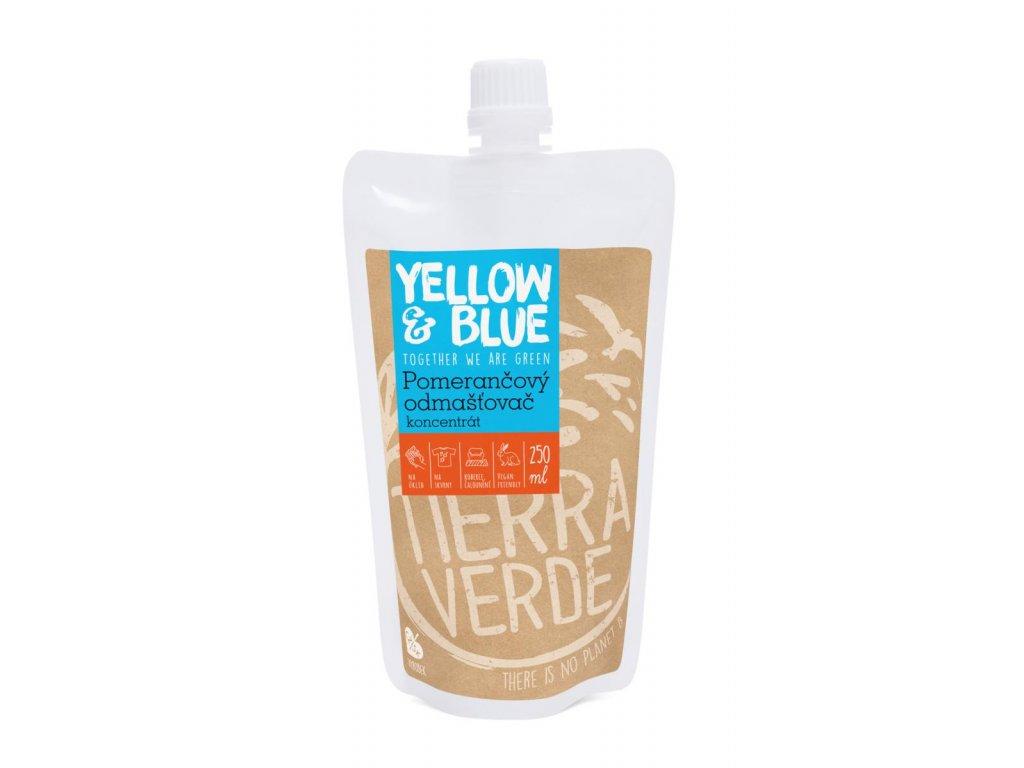 Tierra Verde – Pomerančový odmašťovač – koncentrát (Yellow & Blue), 250 ml