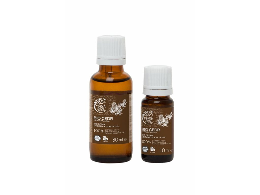 Tierra Verde – Silice BIO Cedr, 30 ml