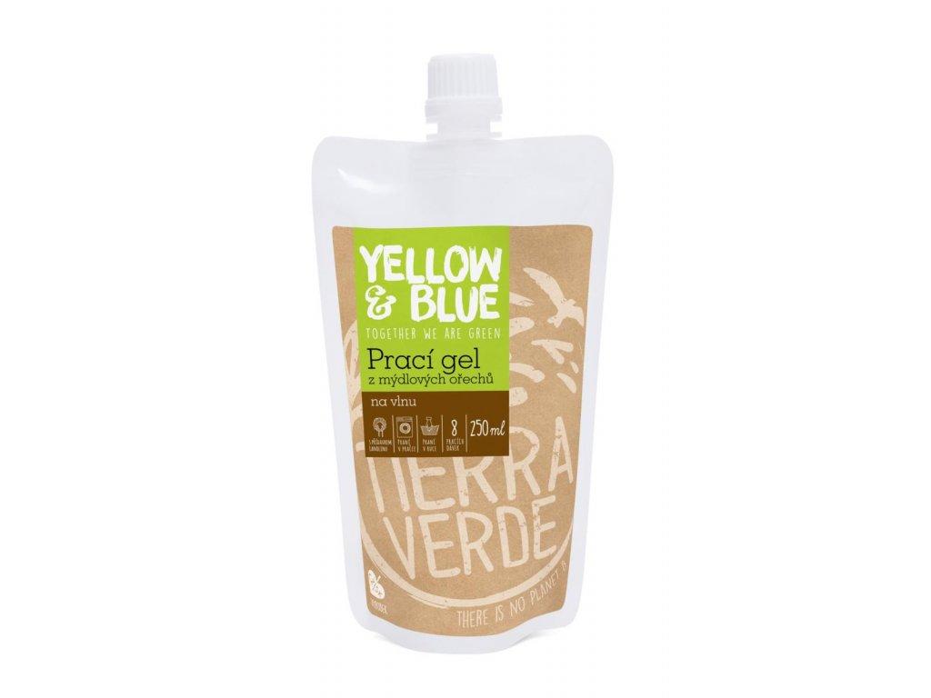Tierra Verde – Prací gel vlna (Yellow & Blue), 250 ml