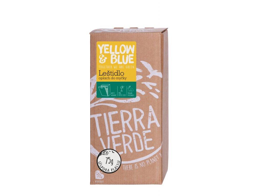 Tierra Verde – Leštidlo - oplach do myčky (Yellow & Blue), 2 l