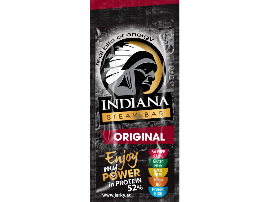 INDIANA Jerky Steak Bar, Original, 20g