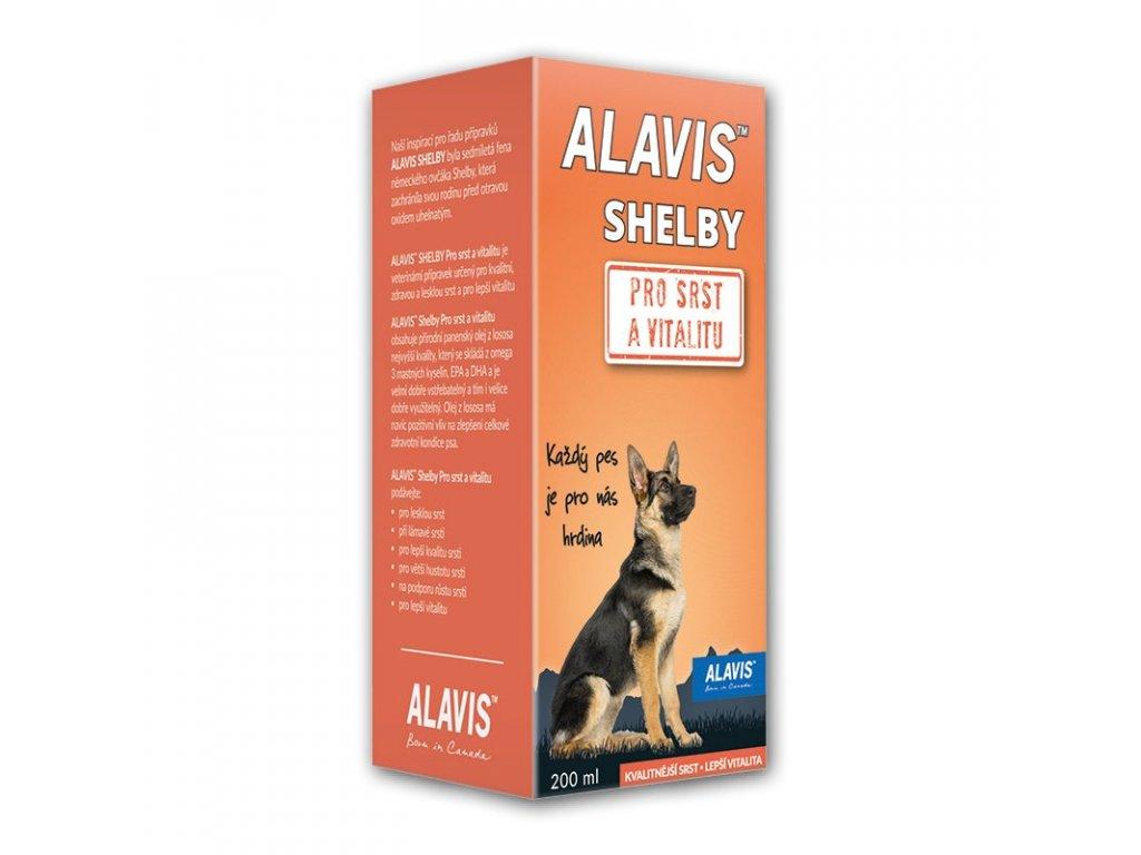 ALAVIS Shelby Pro srst a vitalitu 200ml - AKCE 1+1