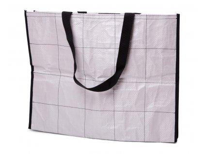 Tierra Verde – Recy nákupní taška – velká (40 × 50 × 10 cm) (Born Again)