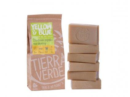 Tierra Verde – Žlučové mýdlo (Yellow & Blue), 140 g × 6