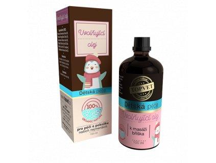 TOPVET Dětská péče - Uvolňující olej 100ml