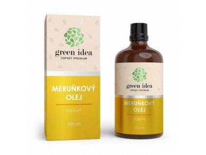 TOPVET Meruňkový pleťový olej 100ml