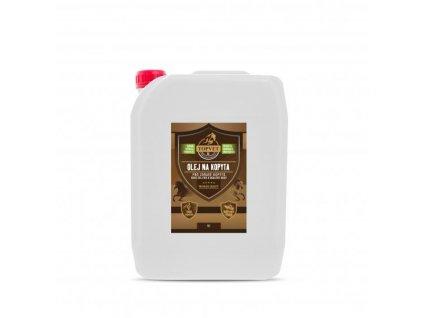 TOPVET Olej na kopyta - pro zdravé kopyto 5 l 5000ml