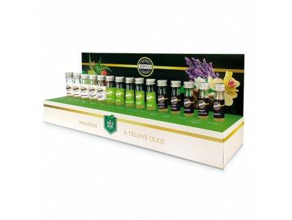 TOPVET Testovací sada masážních olejů
