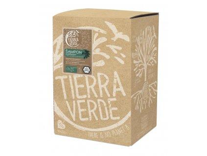 Tierra Verde – Šampon kopřivový svůní rozmarýnu a pomeranče, 5 l