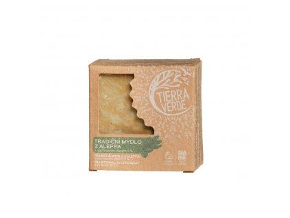 Tierra Verde – Mýdlo Aleppo 5 % (v krabičce 190 g)