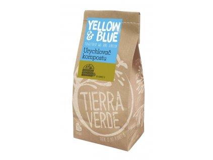 Tierra Verde – Urychlovač kompostu (Yellow & Blue), 500 g