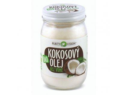 purity vision kokosovy olej bez vune 420ml shoprecall