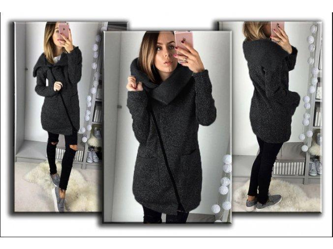 Dámská zimní bunda s límcem KATY
