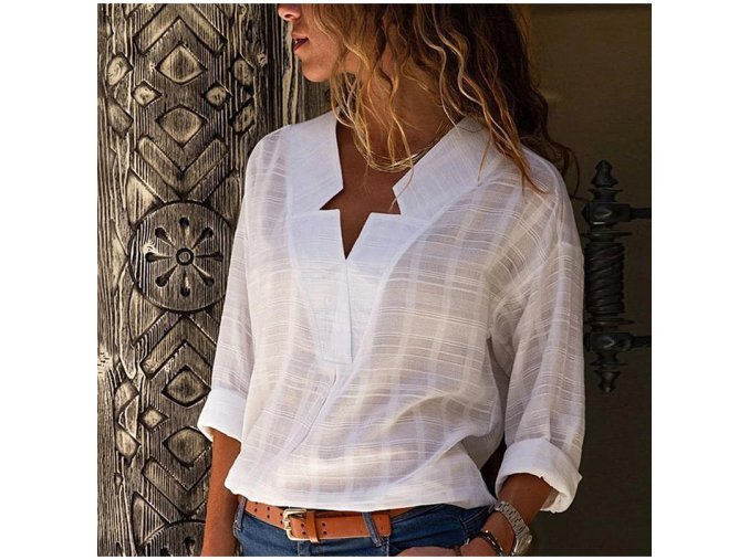 stylová dámská košile (Varianta 1, Velikost S)