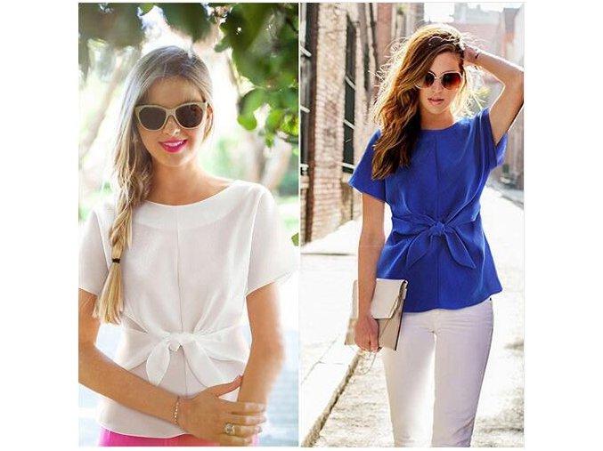 Dámské tričko (barva Bílá, Velikost S)