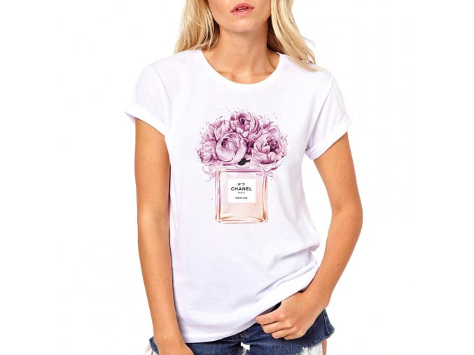 Dámské tričko s potiskem (Varianta 1, Velikost S)