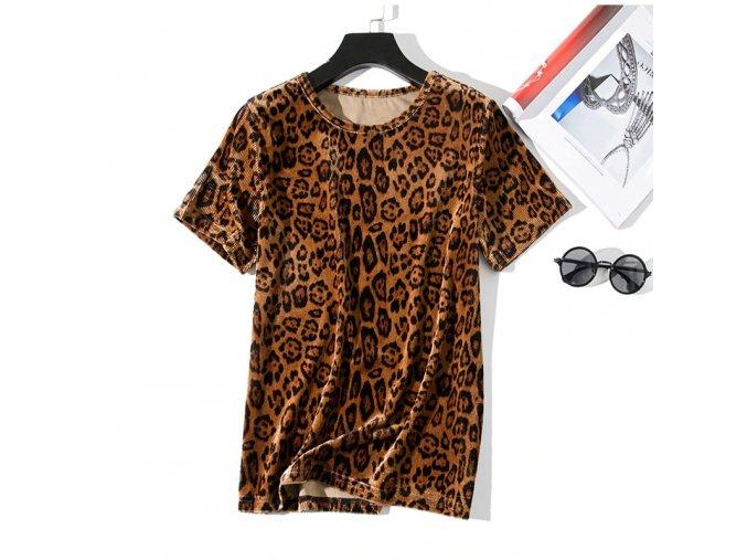 Dámské tričko s potiskem (Velikost S)