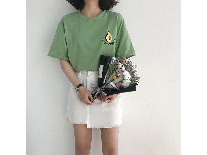 Dámské tričko s potiskem (barva Bílá)