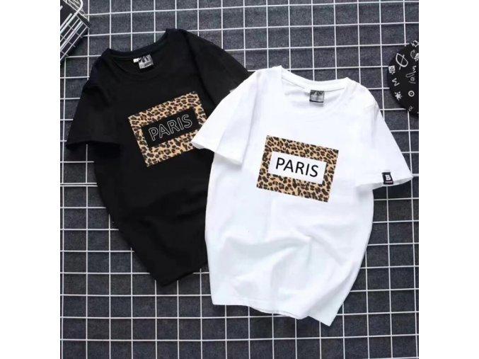 Dámské tričko PARIS (barva Bílá, Velikost S)