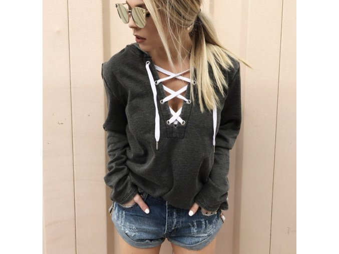 2017 Sexy Lace Up Hoodies Women Fashion Ladies Shirt Loose Tops Solid Bandage Hoodie Casual Pullover.jpg 640x640