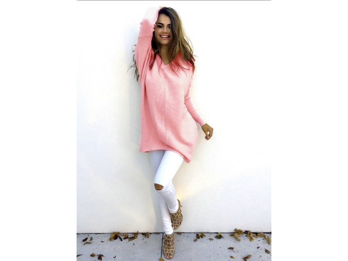 Dámský svetr (barva Bílá, Velikost M)