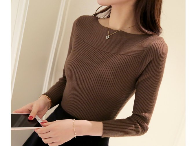 dámský elegantní svetr (Varianta 1, Velikost S)