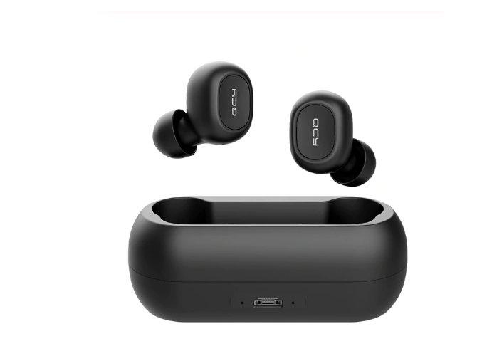Bluetooth sluchátka s nabíjecí stanicí