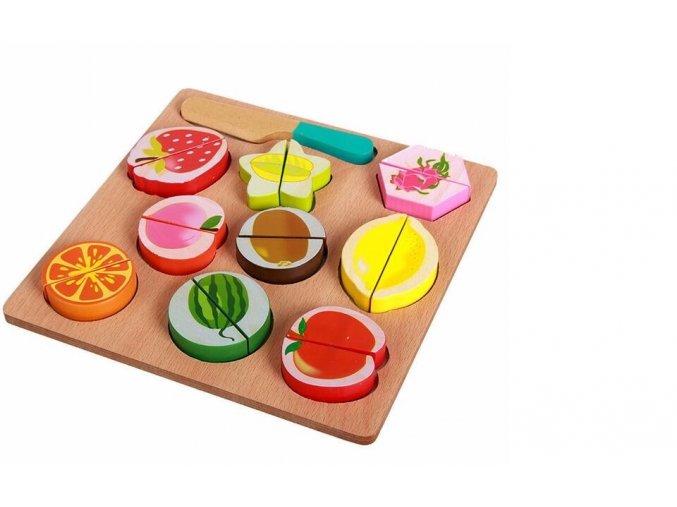 Dětské puzzle - ovoce