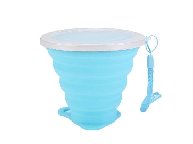 Cestovní silikonový pohár