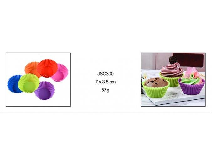 Silikonové formy na muffiny