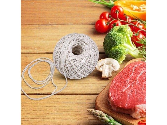 Provázek na zavazování masa